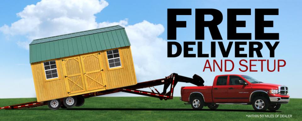 portable building delivery in arkansas