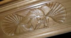 Decorazioni funebri per cofani in legno