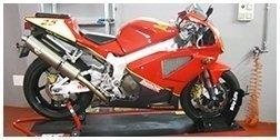 allestimento moto da corsa