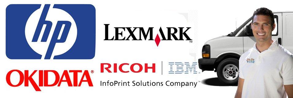 laser printer service contract brands