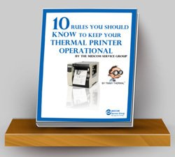 thermal printer maintenance ebook
