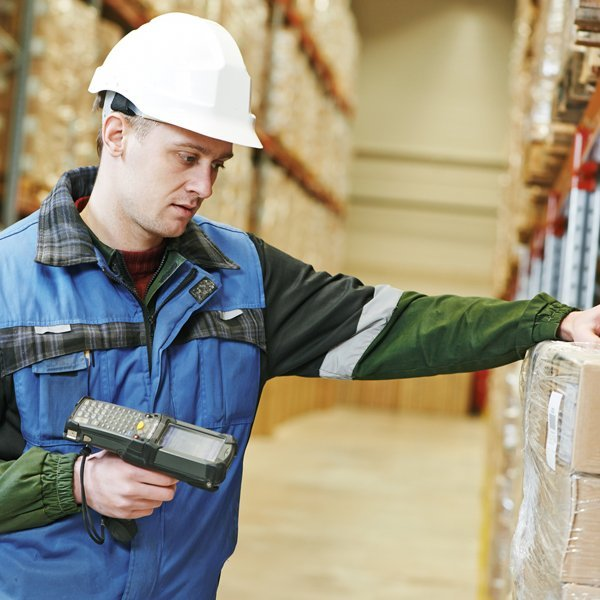 warehousing distribution barcoding