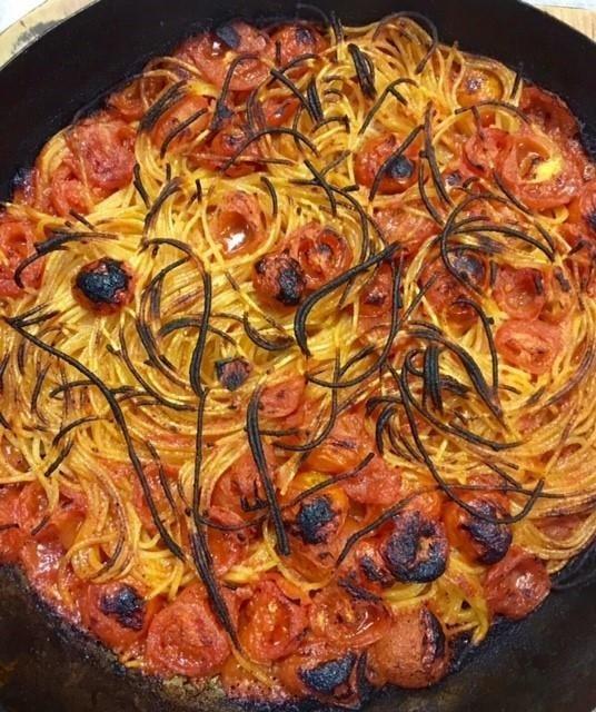 spagnetti al forno