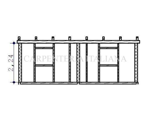 Piantina della struttura
