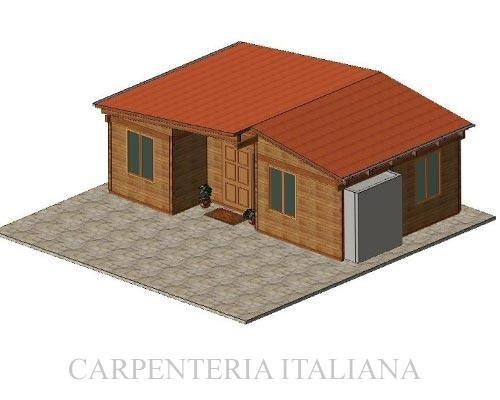 Progettazione casa in legno