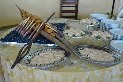 ristorante con servizio catering