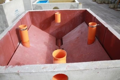 vasca in cemento