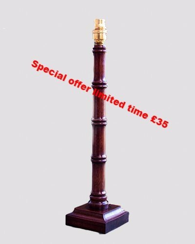 Bamboo table lamp Special offer £35 post free.
