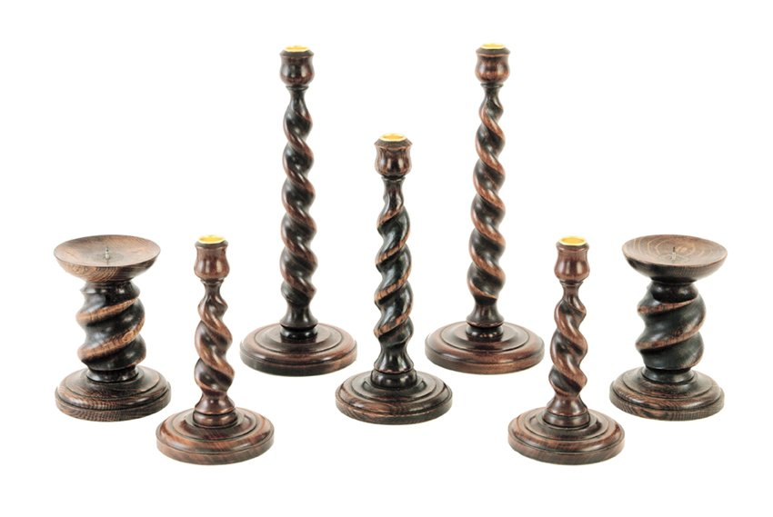 Our range of Twist Candle Sticks