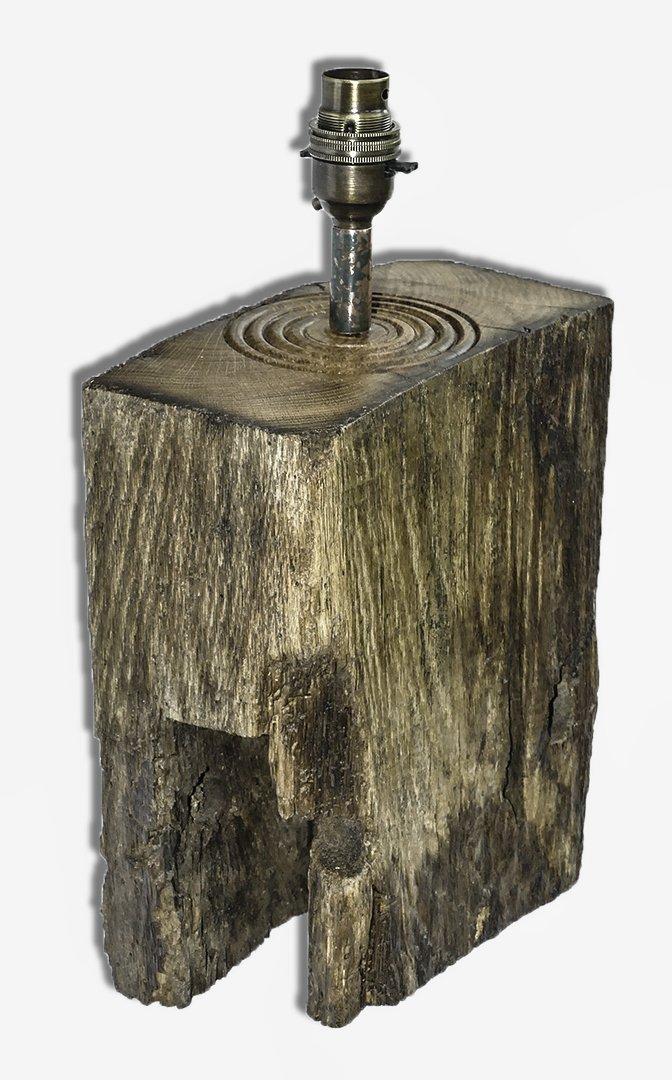 Handmade rustic wooden Lamps