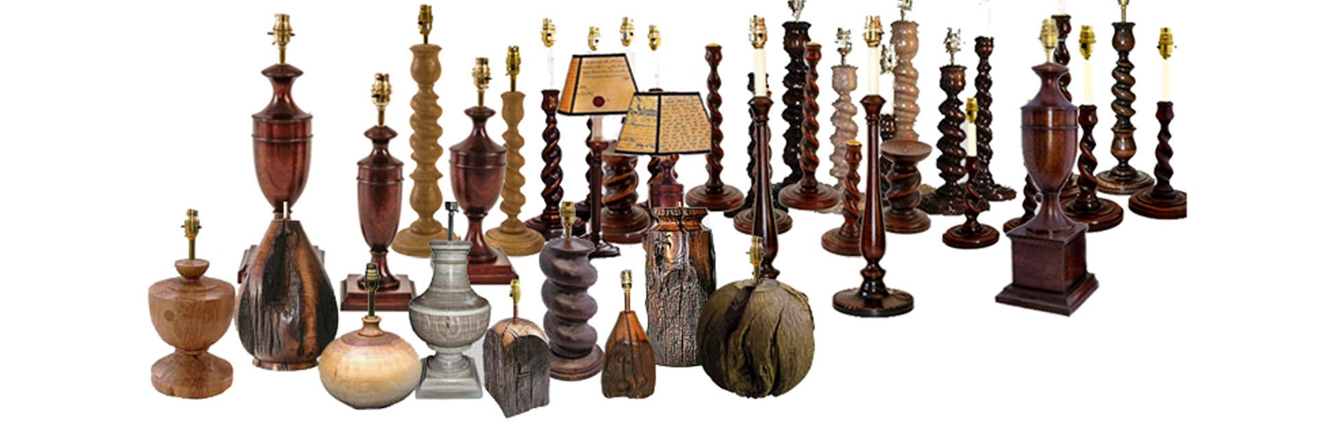 Lamps and twisted holders