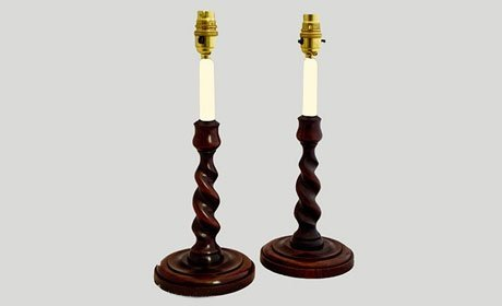 Period twisted lamps
