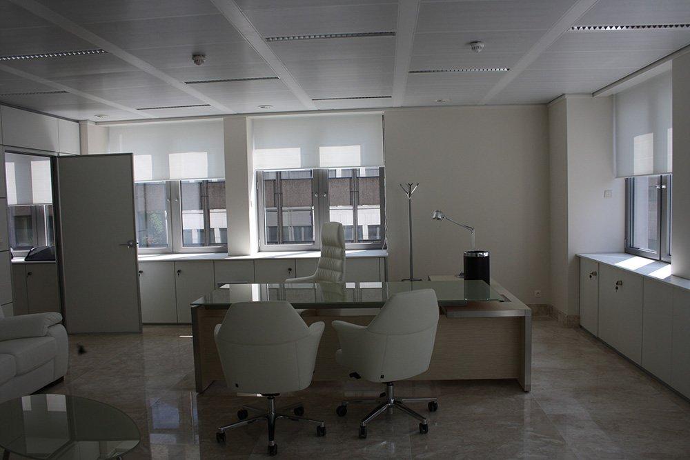 Modern interior del posto di lavoro