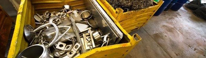 raccolta metalli domicilio