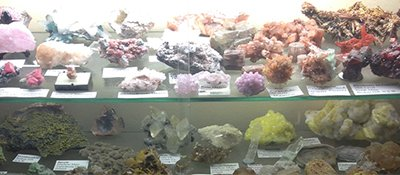 the rockery gemstone museum all kind of stone kept for display