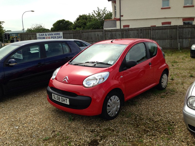 Citroen C2 - Image for illustrative purposes only