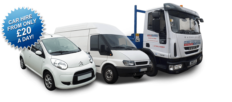 For van hire in Isle of Wight call South Wight Rentals