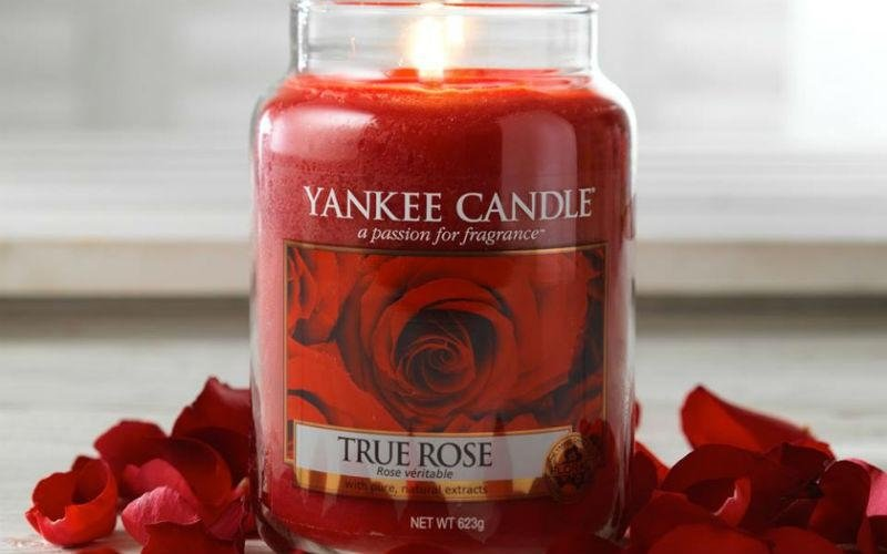 Yankee Candle rosa