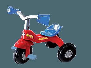 Brio rosso pedale