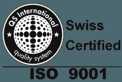 swiss certified iso 9001