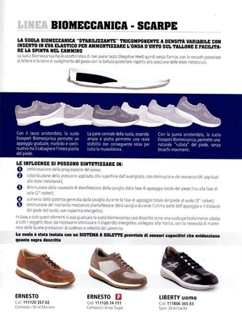 calzature ortopediche Linea Biomeccanica