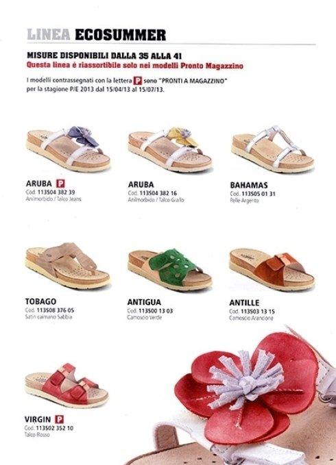 calzature ortopediche Linea EcoSummer