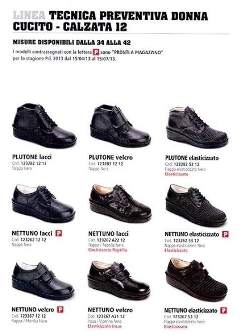 calzature ortopediche calzata 12