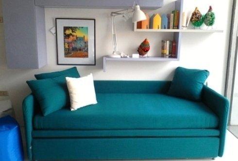 arredamento napoli, offerte arredo a Napoli, divanoletto, doppio letto campeggi