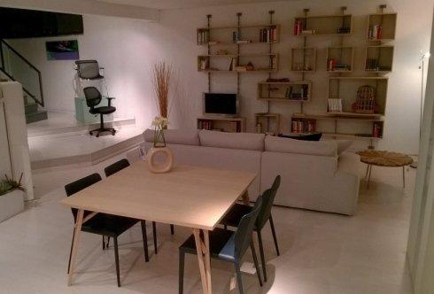slowwood, tavolo, parete attrezzata, sedie, arredamenti, napoli, offerte, promozioni, arredamento