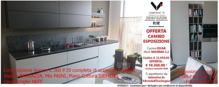 cucina cesar maxima 2.2 in offerta da Valentino In Arredamenti
