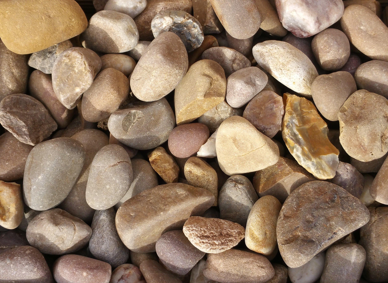 large pebbles