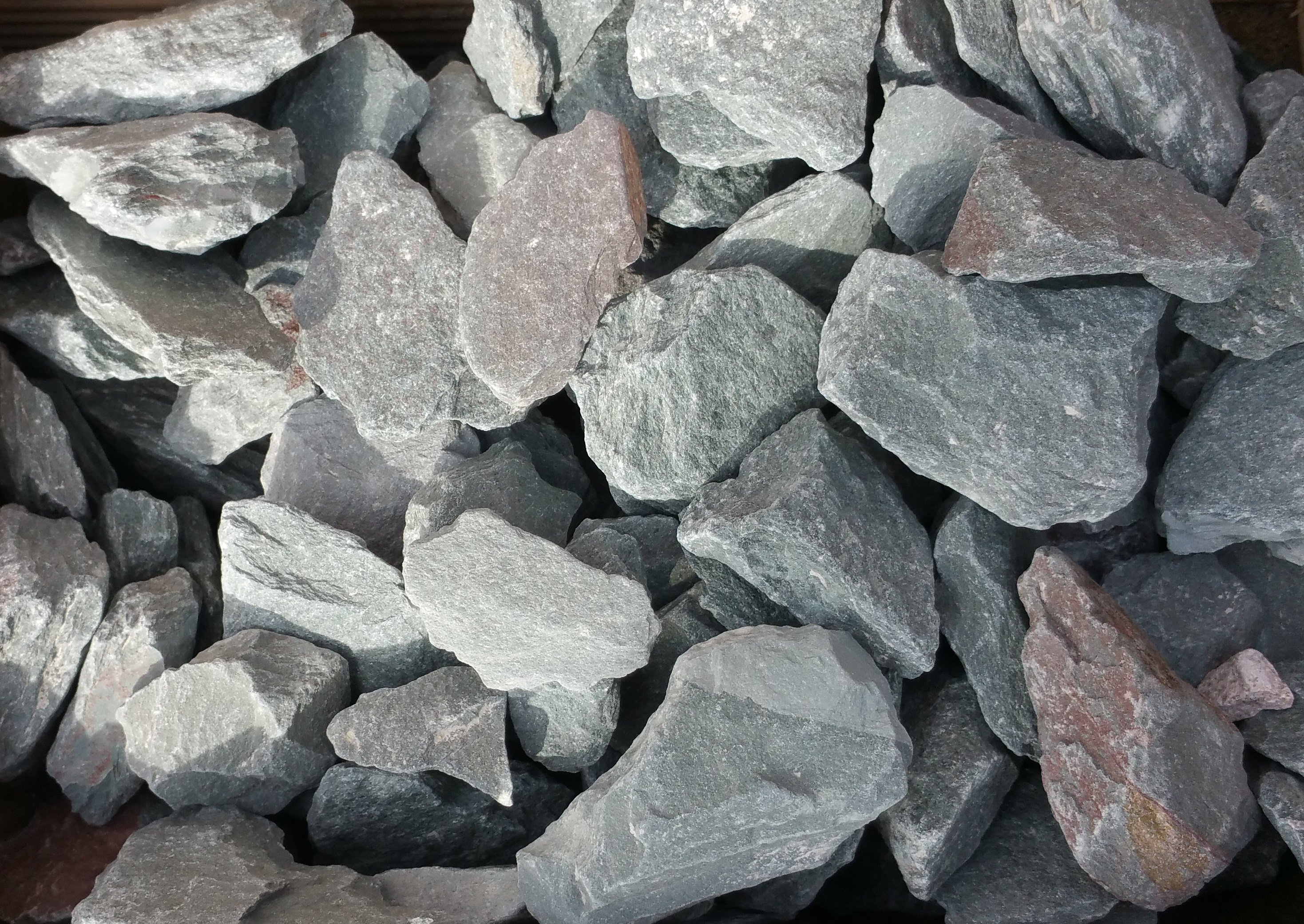large cement stones