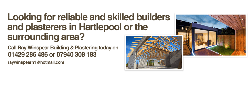 Builders - Hartlepool & Billingham - Ray Winspear Building & Plastering - plastering