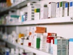 Farmacia, prodotti esposti