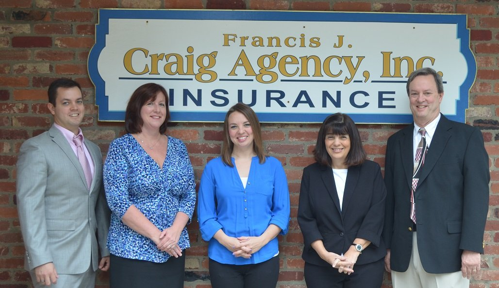 francis j craig agency, independent insurance agent, warrendale, 15086