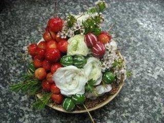Centrotavola con melette