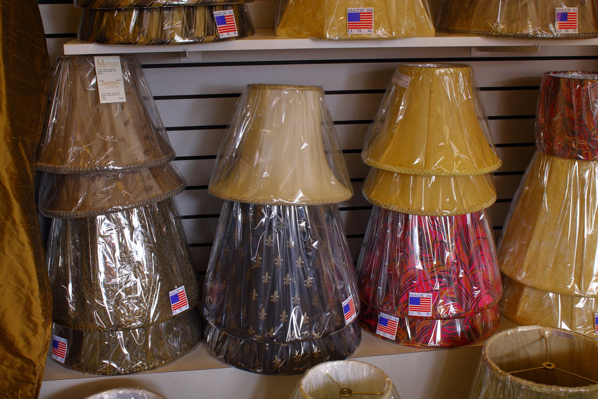 Avon lighting showroom 1000s of lamp shades available today selection of linen hardback shades and print shades aloadofball Images
