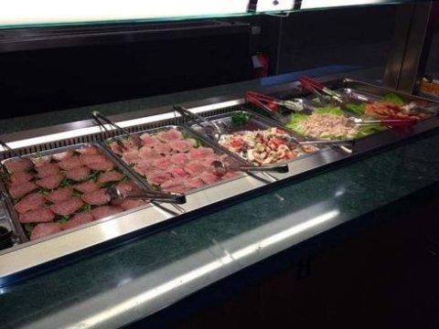 buffet di pesce