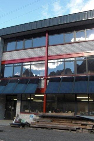 Impianto ad energia solare per azienda.