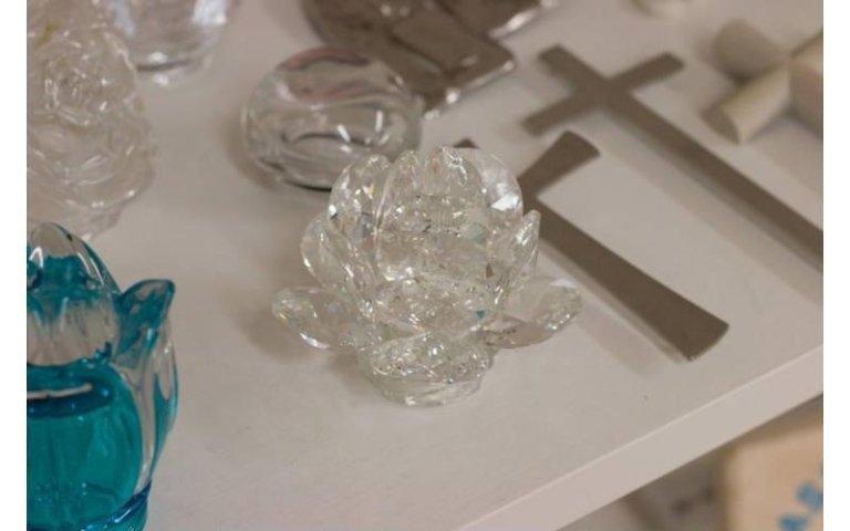 Articoli funebri in cristallo