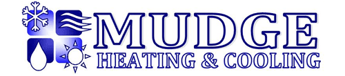 mudge heating and cooling business logo