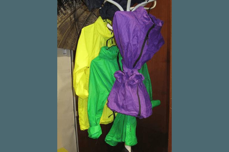 impermeabili colorati