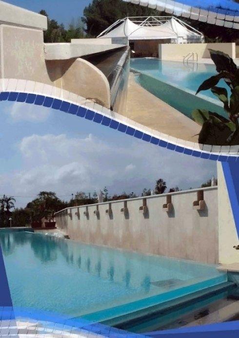 piscine per impianti sportivi
