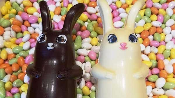 No bunny's Easter would be complete without sweets.