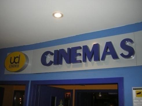 Lettere Scatolate Luminose Mono Cinema UCI