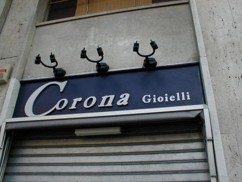 Targhe Cieche Mono Corona Gioielli