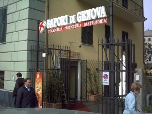 Lettere Scatolate Luminose Mono Sapori di Genova