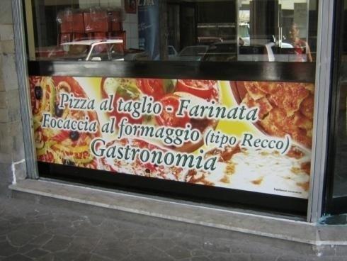 Vetrofanie Pizza