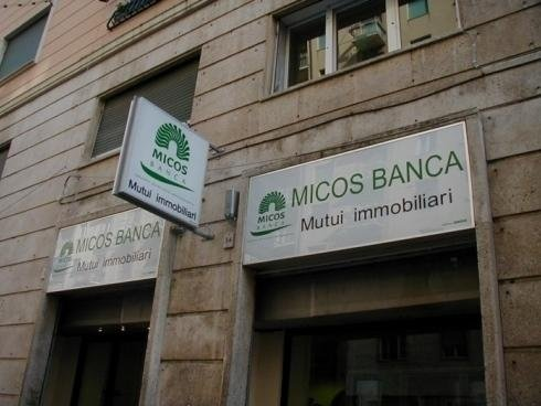 Cassonetti Luminosi Mono Micos Banca