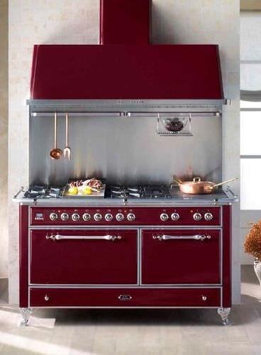 Cucina Ilve Majestic M-150SD-E3-BLX-Bordeaux